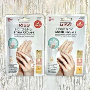 2 Kiss Hand & Nail Argan Oil Hydrating Mask Gloves